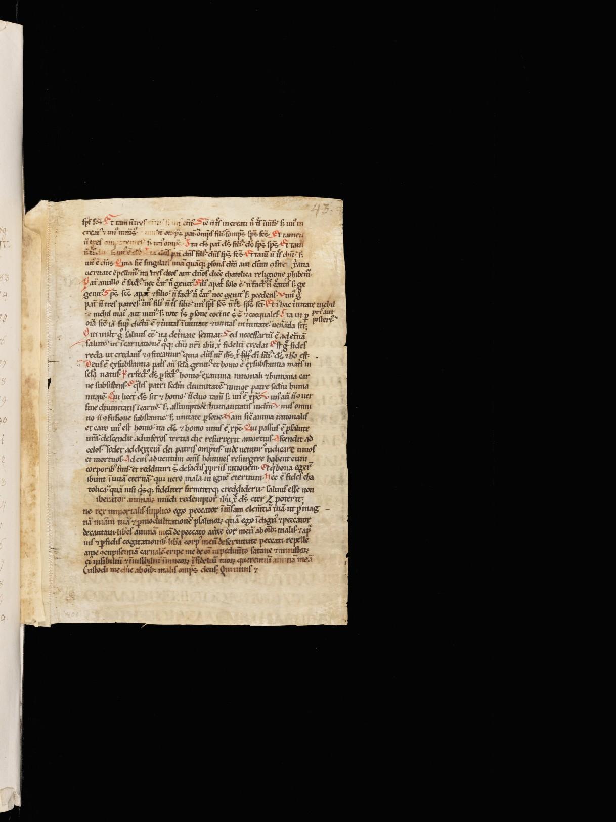 Cod. Sang. 1394, p. 43